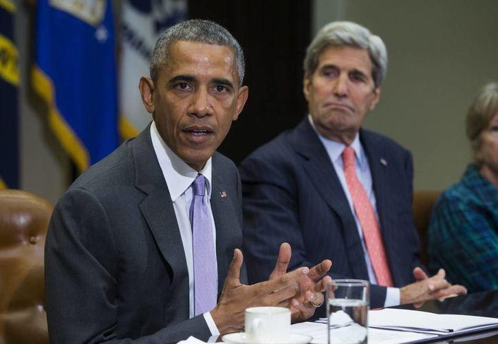 El presidente Obama ordenó acoger a unos diez mil sirios en el próximo año fiscal estadounidense, el cual arranca el próximo 1 de octubre. (EFE/Archivo)