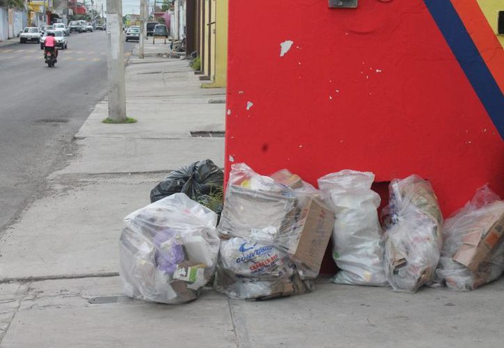 Esta medida se tomó ante la inconformidad de la población por la acumulación de desechos frente a sus domicilios. (Hugo Zúñiga/SIPSE)