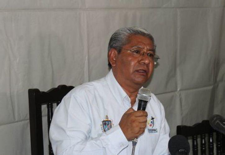 Vocero de la Diócesis Chilpancingo-Chilapa, Benito Cuenca Mayo. (Milenio)