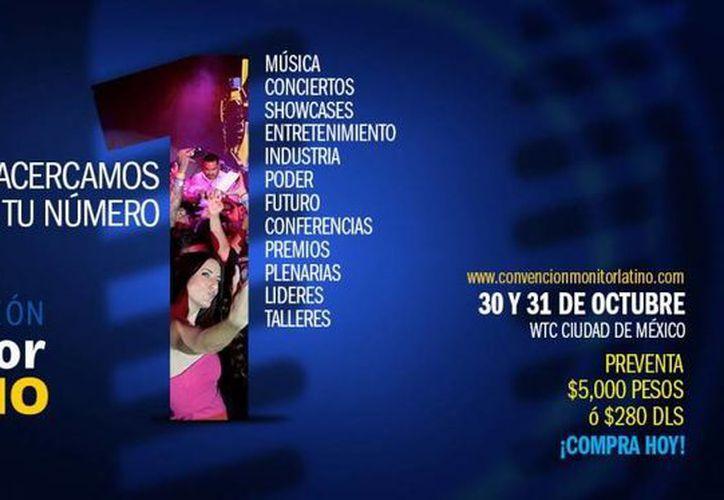 Cartel promocional del Monitor Latino 2016, que se celebrará en la Ciudad de México, en octubre próximo. (monitorlatino.com)