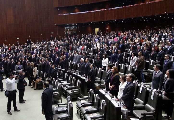Con 385 votos a favor, 24 en contra y tres abstenciones, el dictamen de la minuta que crea la Ley General de Transparencia y Acceso a la Información Pública fue aprobado en la Cámara de Diputados. (Notimex)