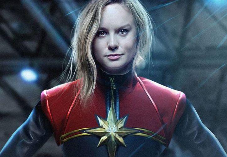 Brie Larson, quien ganó el Oscar por su interpretación en 'Room', dará vida a Captain Marvel. (foto tomada de upsocl.com)