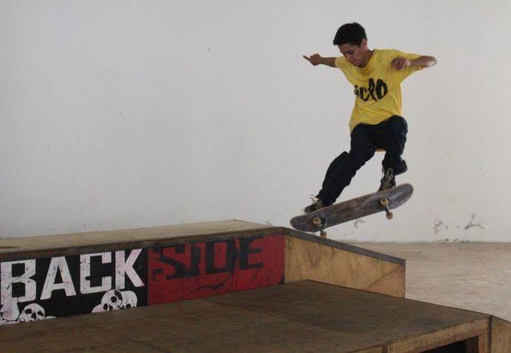 El próximo martes 5 de abril se llevará a cabo una exhibición de Skateboarding.(Miguel Maldonado/SIPSE)