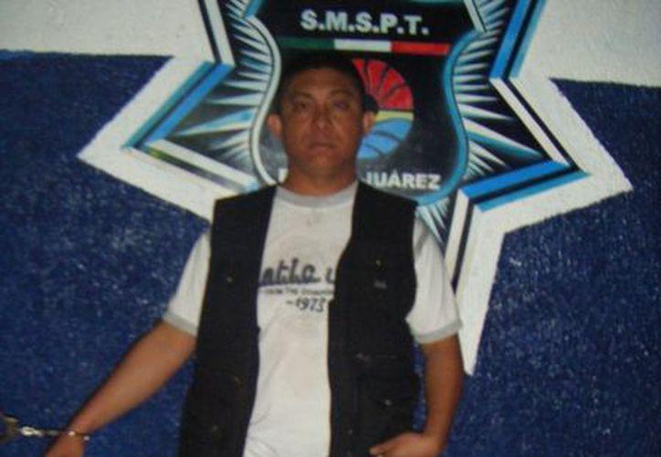 José Orlando Sanguino Lui estuvo en la policía municipal  y hace seis meses era escolta del subprocurador general. (Redacción/SIPSE)