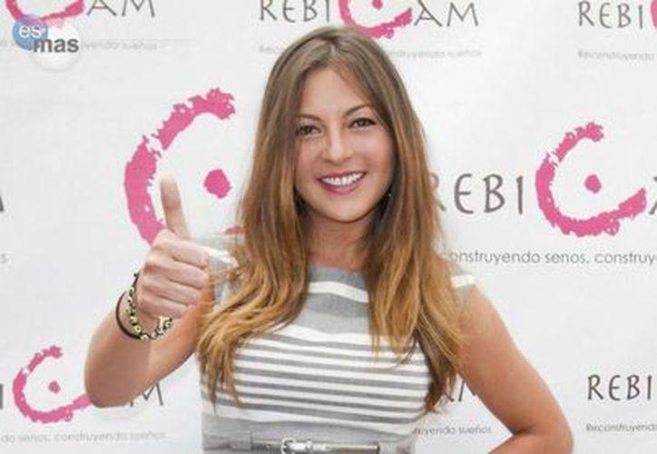 La actriz, cantante y empresaria, Mariana Ochoa, dice estar en el mejor momento de su vida. (Foto/Internet)
