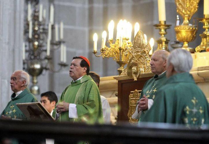Jesús no actúa contra los ricos, aseguró Rivera Carrera. (Notimex)