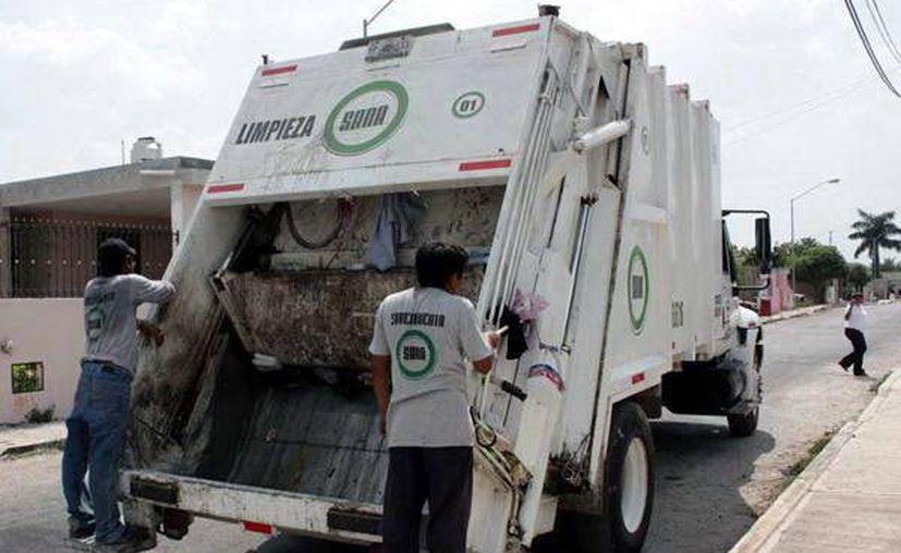 Actualmente cuatro empresas recolectan desechos en la capital yucateca. (Foto: Milenio Novedades)