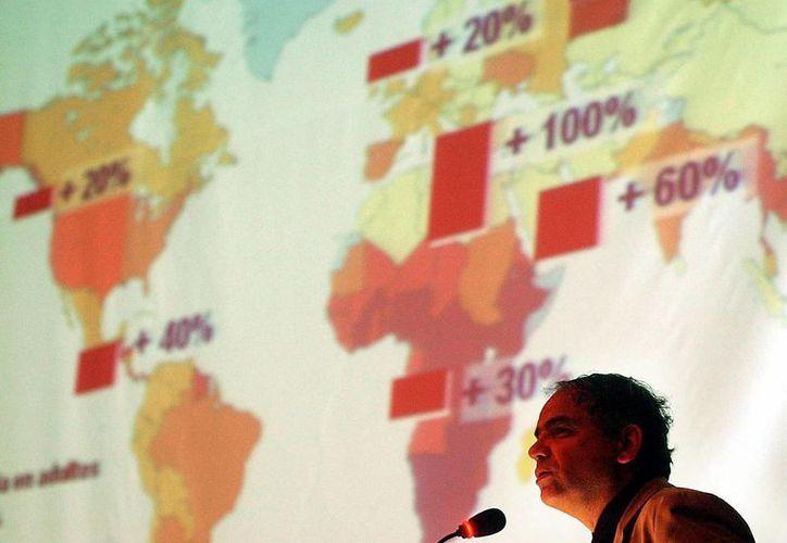 Onusida estima que más de 30 millones de personas en todo el mundo padecen VIH/Sida. (EFE)