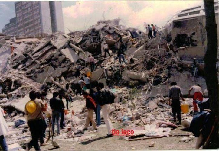 A Juana le hubiese gustado 'que nunca hubiera un terremoto'. (Archivo/SIPSE)