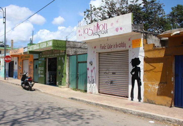 En la ciudad de Felipe Carrillo Puerto, existían hasta el 2014,  600 negocios dedicados al tema del comercio, según el Inegi. (Benjamín Pat/SIPSE)