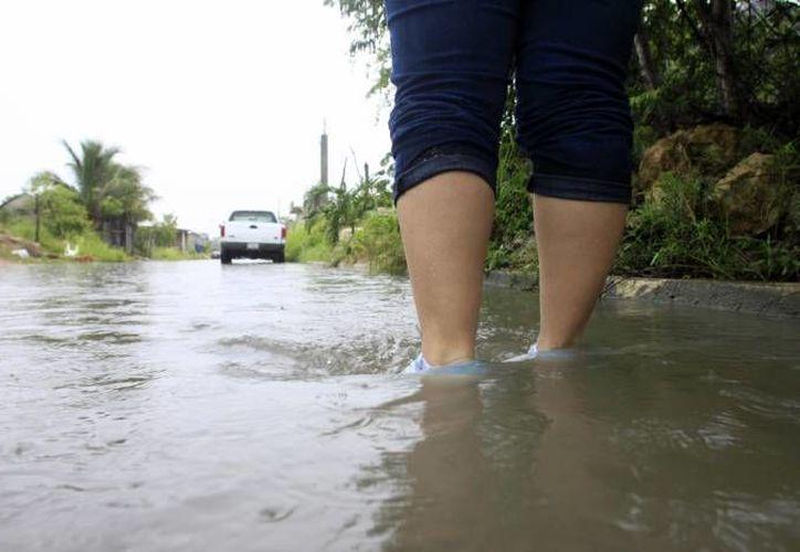 Fueron declarados seis municipios de Quintana Roo como zona de desastre por las lluvias del 22 de octubre. (Foto de contexto/SIPSE)