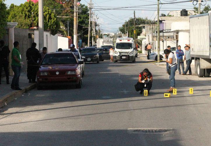 Un Centro de Rehabilitación ubicado en el centro de Cancún fue atacado a balazos ayer por la tarde. (Redacción/SIPSE)
