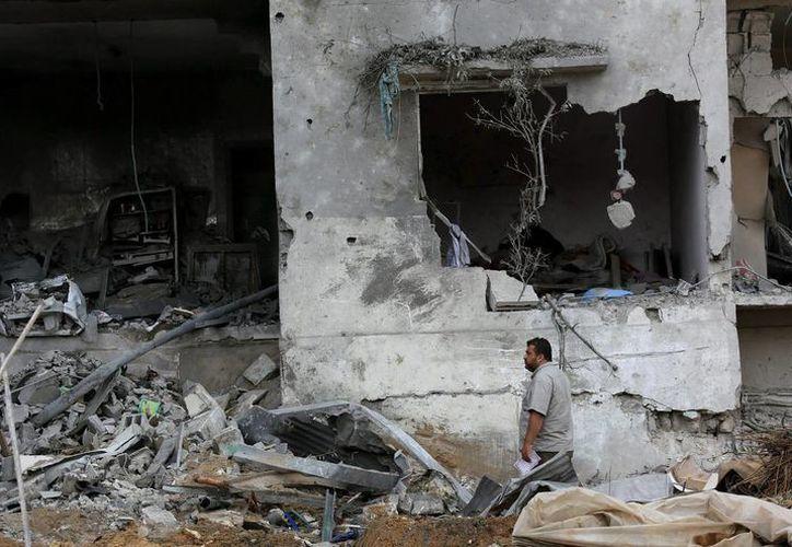Más de un millar de personas han resultado heridas en la Franja de Gaza por el fuego de Israel. (EFE)