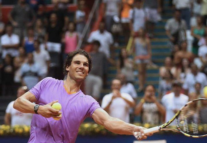 Nadal acaba de ganar el título del torneo ATP de Sao Paulo, Brasil. (Agencias)