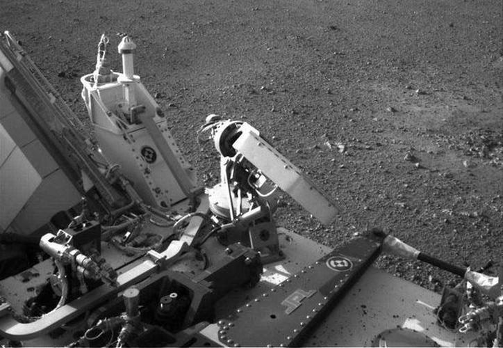 El robot Curiosity se encuentra en Marte desde el año pasado. (eads.net)