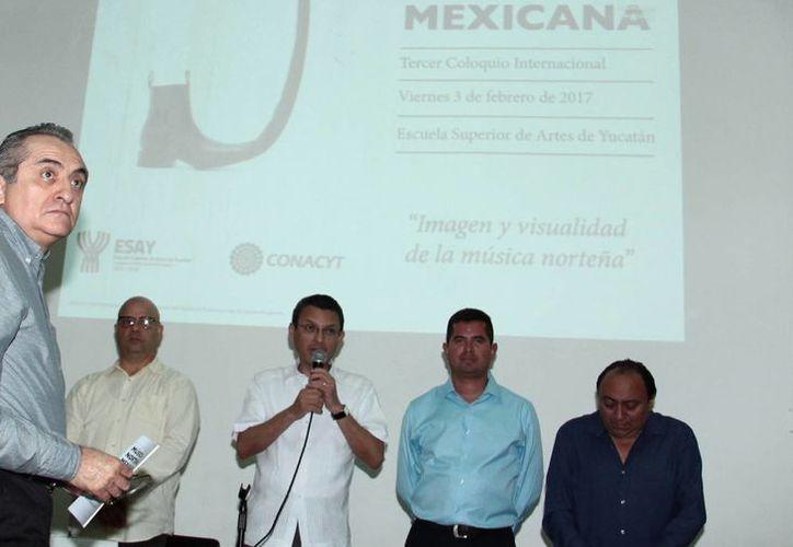El Tercer 'Coloquio Internacional sobre la música norteña mexicana' se realizó en las instalaciones de la Escuela Superior de Artes de Yucatán. (Jorge Acosta/Milenio Novedades)