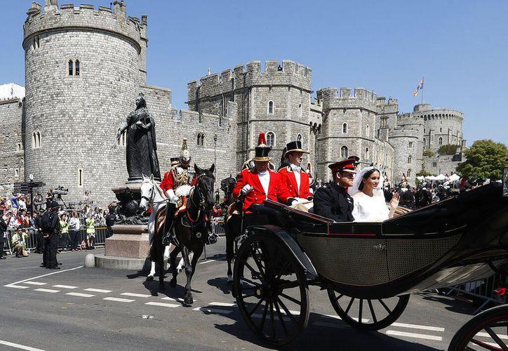 Según el informe financiero real revelado el martes 25 de junio de 2019 la renovación de la residencia de la pareja real cerca del Castillo de Windsor, llamada Frogmore Cottage, costó 2,4 millones de libras esterlinas (3,06 millones) de dinero de los contribuyentes. (Foto AP/Frank Augstein, archivo)