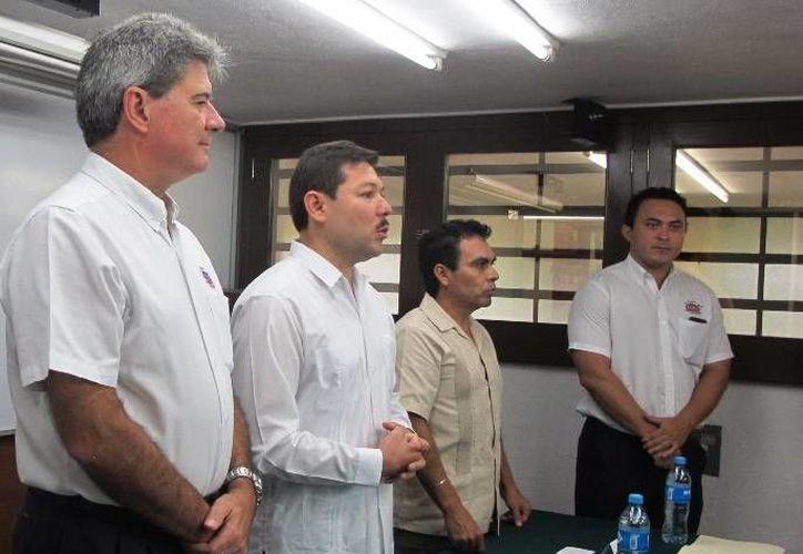Inauguración del VIII Encuentro nacional de directivos de trabajo social y atención al usuario, en el Hospital Regional de Alta Especialidad de la Península de Yucatán. (SIPSE)