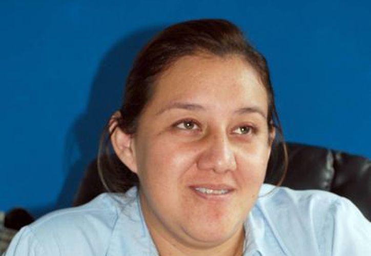 La procuradora de la Defensa del Menor y la Familia, Ana Luz Ortega Escamilla. (Tomás Álvarez/SIPSE)