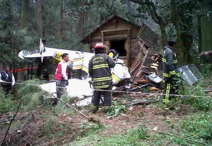El saldo del accidente fue de dos personas heridas. (Foto: @Huatoo)