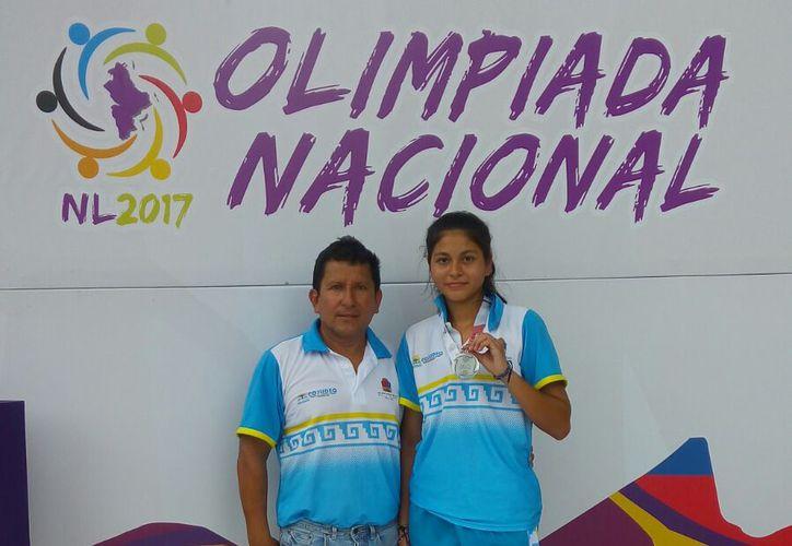 A los seis años de edad Jacqueline inició su aventura dentro del atletismo en las pruebas de velocidad. (Miguel Maldonado/SIPSE)