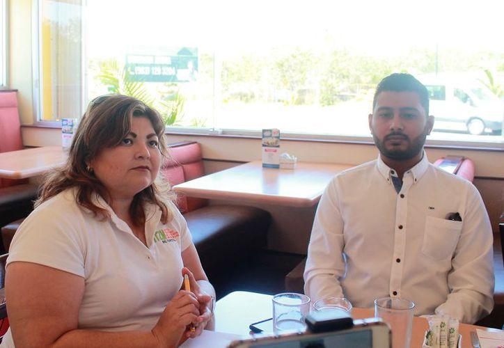 Leslie Verónica Espinoza Ortega, presidenta del Comité Estudiantes del Tecnológico Maya