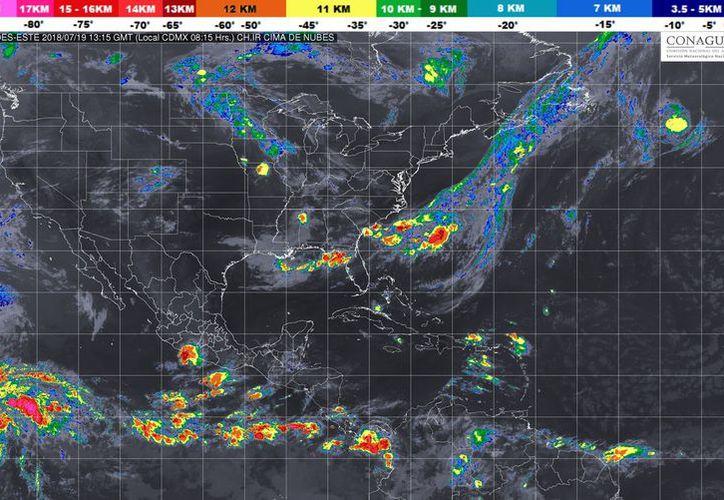 Se espera un ambiente muy caluroso y viento del este y sureste de 20 a 35 kilómetros por hora. (Conagua)