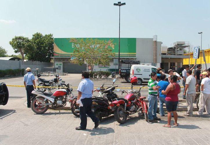 Una tienda de autoservicio fue asaltada en la ciudad de Motul. (Milenio Novedades)