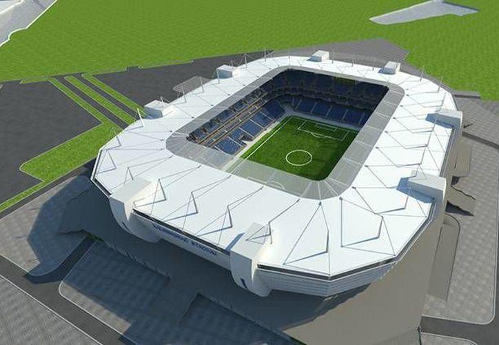 El proyecto de construcción de uno de los estadios para el Mundial de Fútbol 2018 recibirá la aprobación final de la FIFA. (kgd2018.ru)
