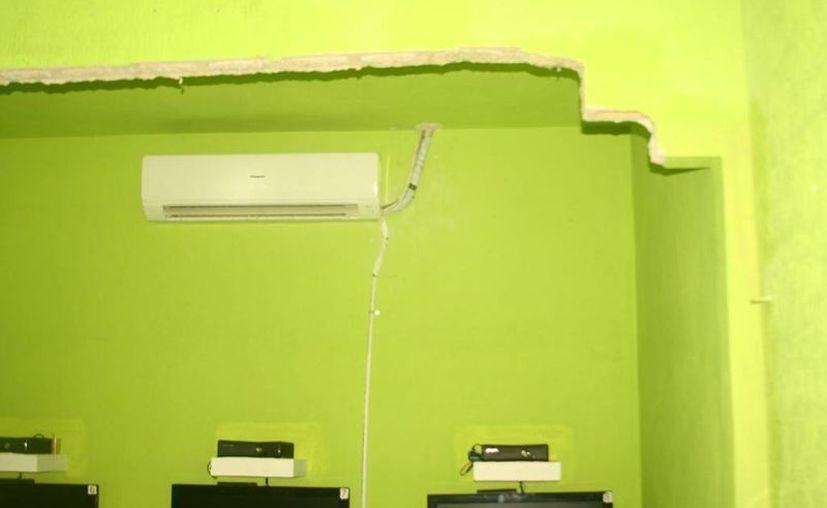 Dueña se deslinda de la responsabilidad al decir que el lugar era rentado. (Loana Segovia/SIPSE)