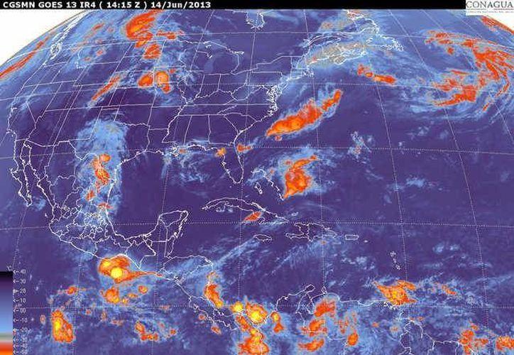 Soplarán vientos del este y noreste de 20 a 40 km/h con rachas de 60 km/h. (smn.cna.gob .mx)
