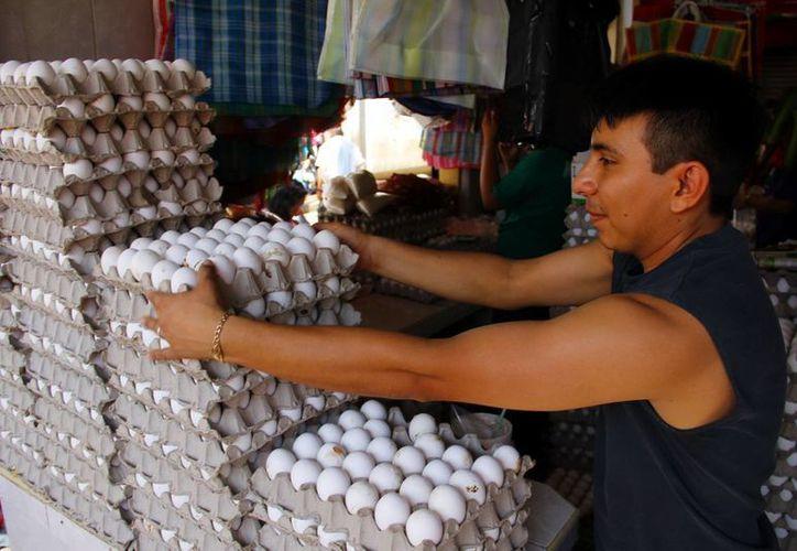 En promedio Yucatán produce anualmente 96 mil toneladas de huevo. (Milenio Novedades)