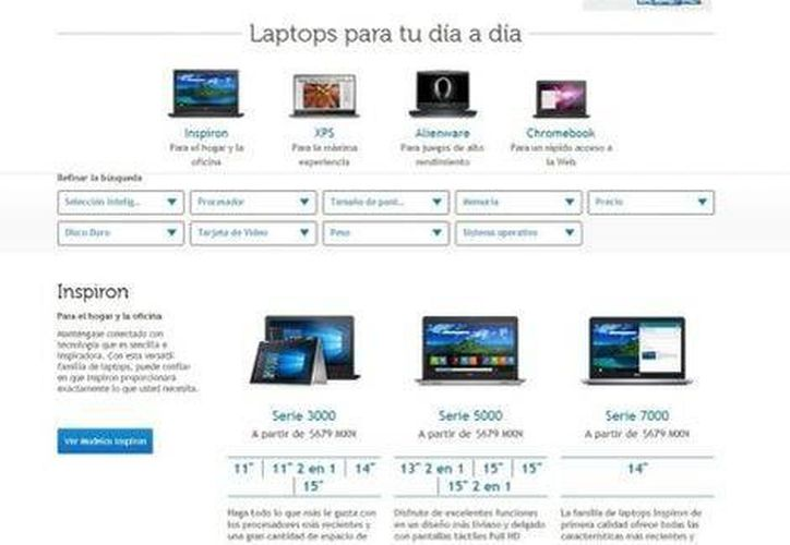 Dell aclaró que la entrega del equipo vendido en 679 pesos está limitado a uno por cliente. (Milenio)