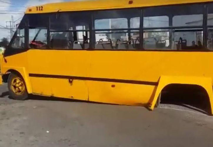 Los camiones muchas veces no respetan las medidas de seguridad que las leyes exigen. (Milenio Novedades)