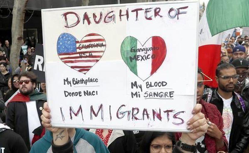 Protestas contra la política migratoria del gobierno de Donald Trump. Las decisiones del Gobierno de EU están afectando la economía de ciudades fronterizas. (ANSA)
