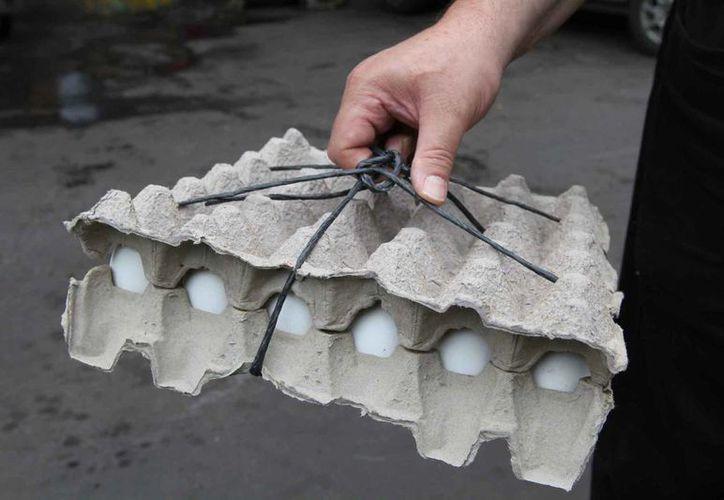 Los últimos reportes de la SE ubican el costo promedio del huevo en 40 pesos. (Archivo/Notimex )