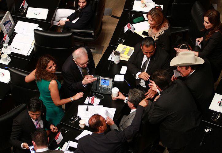 Los senadores de las diferentes fracciones políticas estuvieron de acuerdo al abordar el tema de la nueva figura. (Notimex)