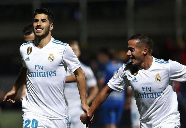 Real Madrid da un paso más a octavos en la copa del Rey. (Fotos Goal)