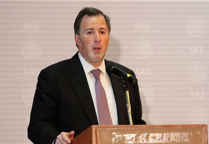 SRE, cuyo titular es José Antonio Meade (foto) exhortó a todas las partes a evitar el enfrentamiento. (Archivo/NTX)