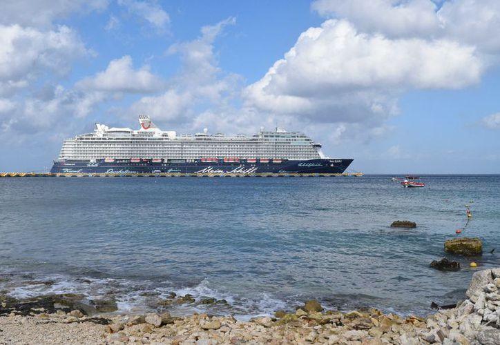 El 2 de marzo será el día en que más visitantes lleguen en los trasatlánticos. (Gustavo Villegas/ SIPSE)
