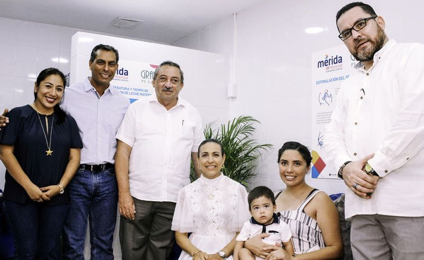 Unen esfuerzos autoridades y empresas en favor de la ciudadanía. (Novedades Yucatán)