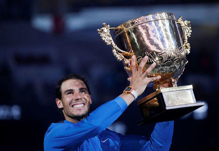 La última vez que Nadal ganó seis títulos en un año fue 2013. (AP)