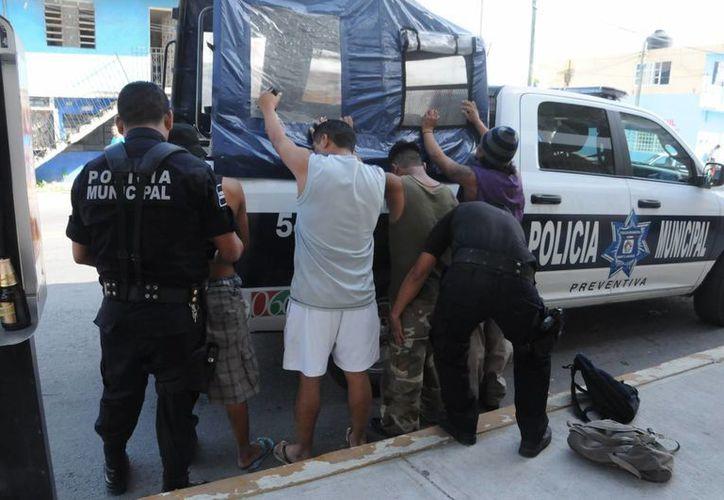 La Policía Municipal comenzó a recibir los reportes de robo a las 12 horas. (Redacción/SIPSE)