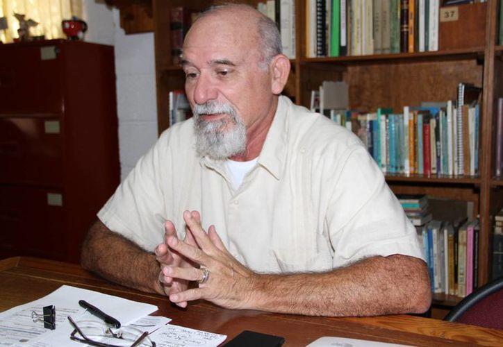 Luis Gerardo Téllez Trejo, presidente de la Asociación de Universidades y Preparatorias Particulares de Quintana Roo A.C. (Tomás Álvarez/SIPSE)