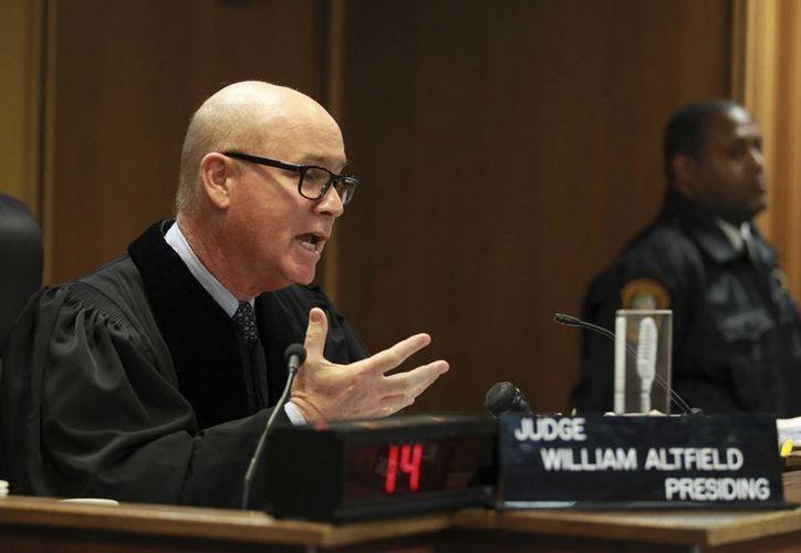 En el juicio contra Justin Bieber, el juez William Altfield declaró en una audiencia: 'Esperemos que entienda el mensaje, que crezca y use su talento de manera positiva'. (AP)