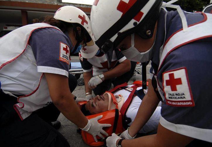 La sede de la Cruz Roja de Mérida es la que más servicios realiza. (Milenio Novedades)