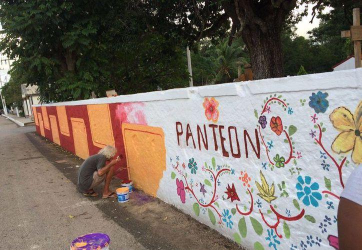El proyecto inició en parques y hasta en un panteón. (Cortesía)