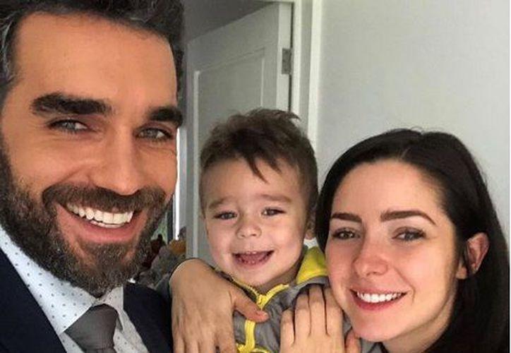 Ariadne Díaz es una madre muy consentidora y fan número uno de su pequeño Diego. (Instagram)
