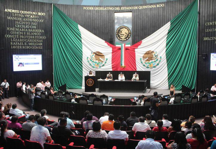 Los diputados del Congreso local aprobaron el incremento para Solidaridad y Lázaro Cárdenas. (Daniel Tejada/SIPSE)