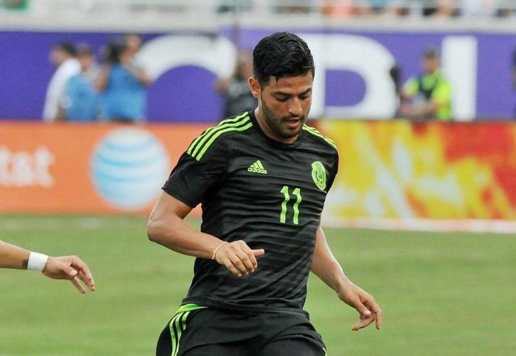 Carlos Vela podría presentarse al juego contra Costa Rica de la CONCACAF. (100x100Fan).
